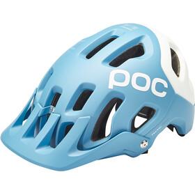 POC Tectal Race Spin Helmet basalt blue/hydrogen white matt